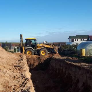 Расчистка и планировка участка, вывоз мусора, Елховка, 2019г