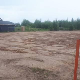 Расчистка и планировка, котлован, пересадка деревьев, Шпалозавод, 2019г