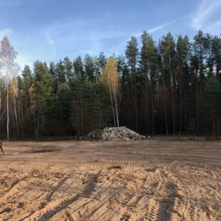 Расчистка участка, Гремячая поляна, 40 соток, 2020г