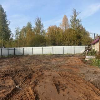 Расчистка участка, Либхер, 2020г