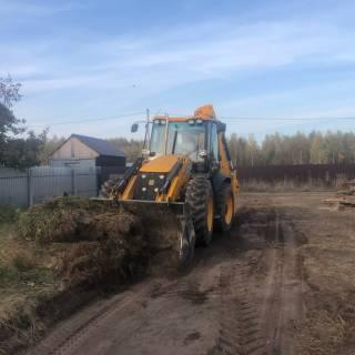 Расчистка участка, Оранки, 2020г