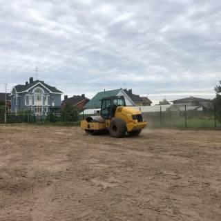 Расчистка и покос травы на участке, Приозерный, 2020г