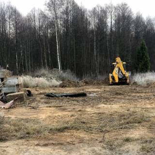 Расчистка участка и демонтаж, Селищи, 2020г