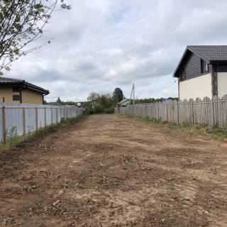 Расчистка участка, Ваганьково, 2020г